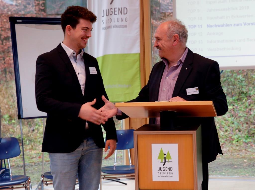 Florian Wink ist neuer Vorstand