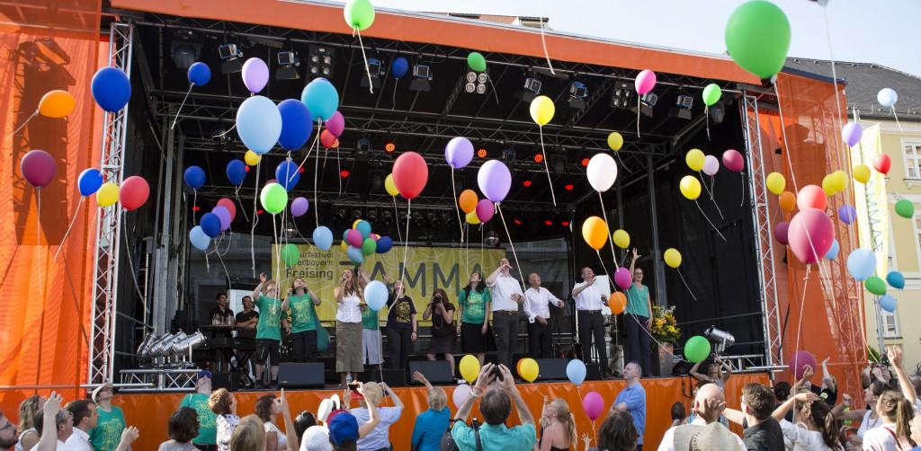 Auf die Plätze, fertig, ZAMMA - Startschuss zum Kulturfestival Oberbayern in Freising