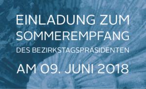 Einladung zum Sommerempfang 2018