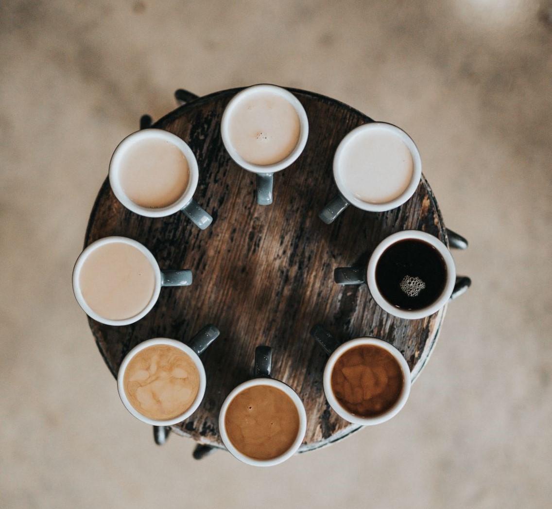Coffe in allen Variationen