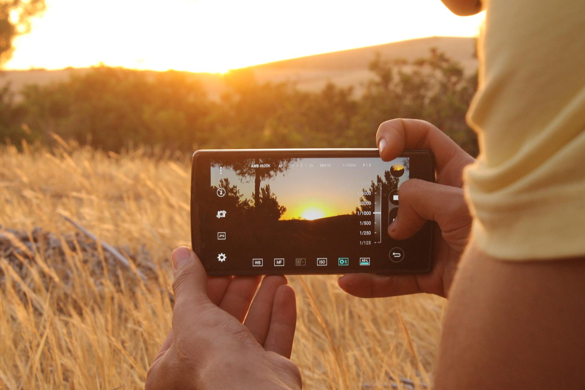 Filmen mit dem Smartphone