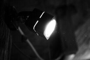 leuchtender Lichtspot
